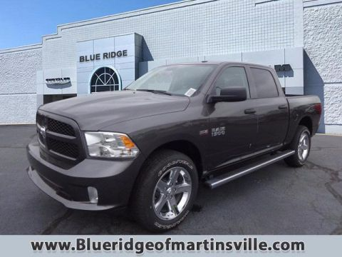 New 2017 RAM 1500 Express 4x4 Crew Cab 5'7 Box